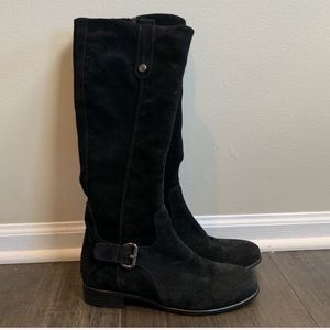 La Canadienne Suede Boots Size 8